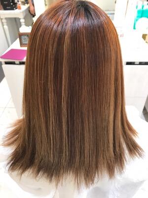 髪質改善のアイロン前の状態
