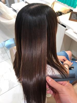 髪質改善縮毛矯正をやった実例