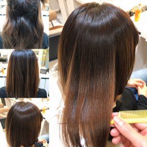 縮毛矯正から髪質改善までの髪の状態