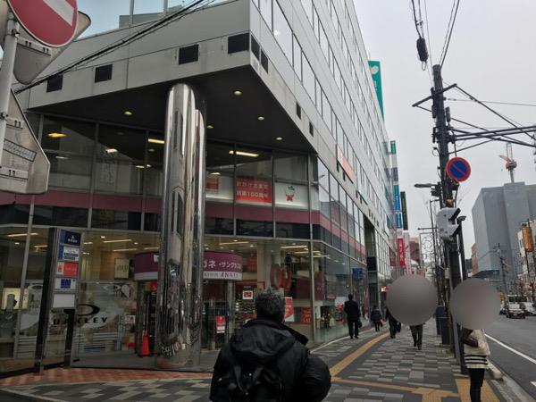 メガネ屋さんと東京三菱UFJ銀行