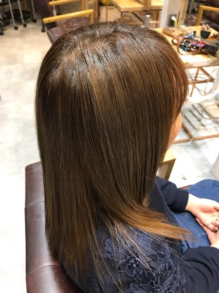 髪質改善バックサイドの写真