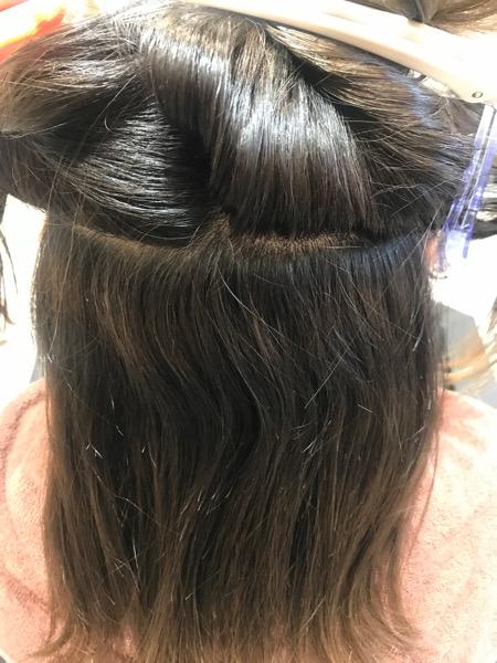 カウンセリング時の髪の状態