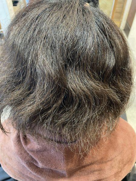 ブリーチしてある髪の状態